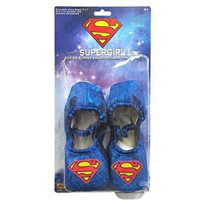 836aa58b34a9 Qoo10 - Supergirl Glitter Slipper Shoes   Toys