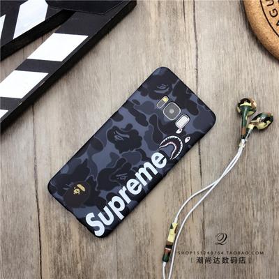 info for 9b78a 1aed6 supreme Samsung note 8 phone case phone cover Samsung s8 phone shell s7edge  scrub phone shell Samsun