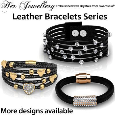 72b42e5ce Qoo10 - Leather Bracelet : Watch & Jewelry