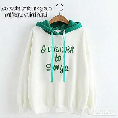 Qoo10 - Sweater Wanita    Jaket Hoodie    Leo Sweater   Pakaian d75903cbb5