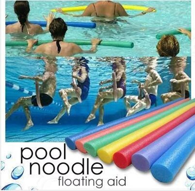 Swimming Pool Noodle Float Aid Aqua Aerobics Water Exercise Toys