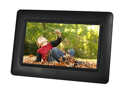 Qoo10 Sylvania Sdpf651 65 Inch Digital Photo Frame With Clock And