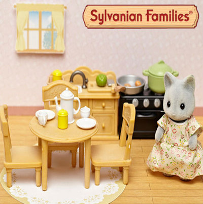 Sylvanian Family Furniture Set Collection / Living Room Set 1702 / Baby Furniture  Set 28830/