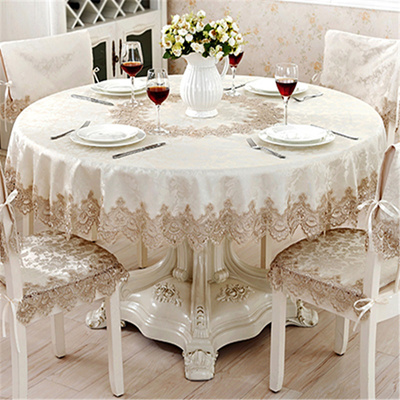 Qoo10 Table Cloth Round Runner European Clical Jacquard Lace Suit A Small Liances