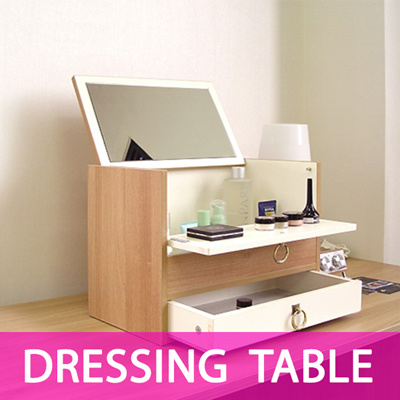 Etonnant Tabletop Dressing Table With Mirror /Makeup Cosmetic Organizer / Cosmetic  Jewelry Storage Cabinet