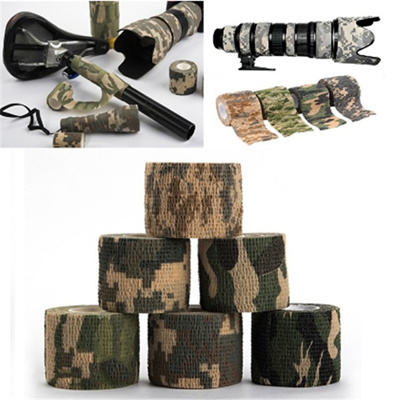 Tactical hunting hunting camera camouflage bionic camouflage tape tape  military supplies stretch ela