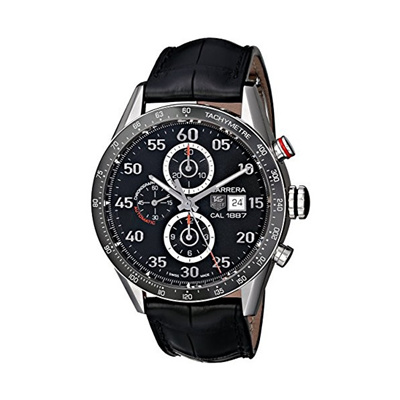a2e38d9156a Qoo10 - TAG Heuer Carrera Calibre 1887 Automatic Chronograph CAR2A10 ...