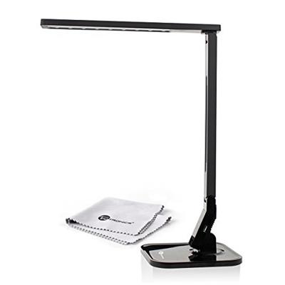 Taotronics elune tt dl01 dimmable led desk lamp piano black 4 lighting modes