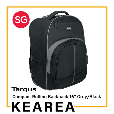 8ff4dedf0cae Targus Compact Rolling Backpack 16 inch