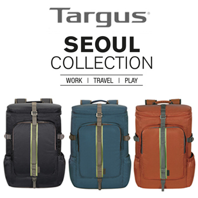 c1a728842bed TargusTARGUS Seoul Refresh Backpack / 15.6inch / Water Resistant / Trolley  Sleeve