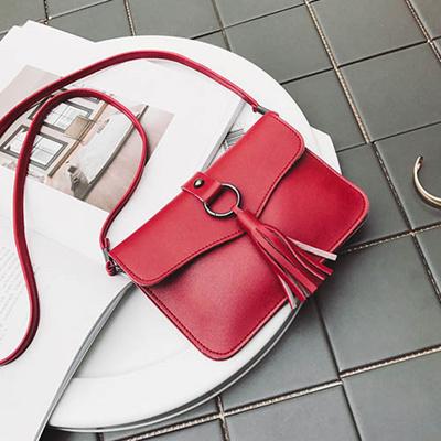 tas selempang wanita sling bag mini tassel rumbai fringe kulit bta335 a8a836eb0a