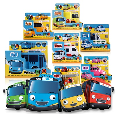 Qoo10 Tayo Bus Toys