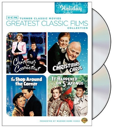 Christmas In Connecticut Movie.Tcm Greatest Classic Films Collection Holiday Christmas In Connecticut A Christmas Carol 1938
