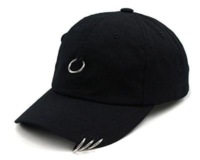 Qoo10 - Teamlife Unisex 4 Rings Pierced Mens Baseball Cap Adjustable Size  K-Po...   Fashion Accessor. ac8ef17ab24