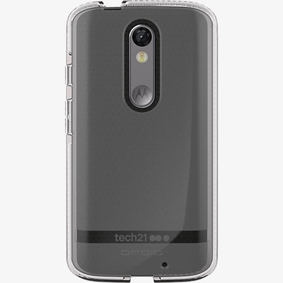 new product 995bf f17ea Tech21™ Evo Shell for Motorola DROID Turbo 2 - Clear/White