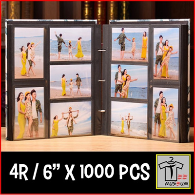 Qoo10 Tee Museum 4r 6 Inch Photo Album Hold 1000 Pcs Of
