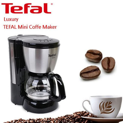 Tefal Cm1108 Mini Drip Coffee Maker With Permanent Filter Service For 4 6 Person