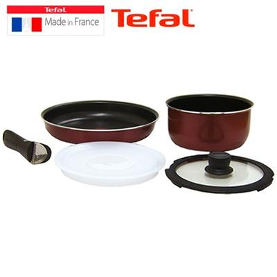 qoo10 tefal cookware set kitchen dining. Black Bedroom Furniture Sets. Home Design Ideas
