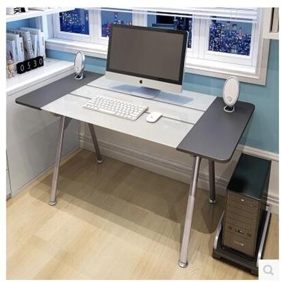 Tempered Glass Desk Desktop Modern Minimalist Desk Single Desk Desk