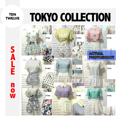 308675501 [Ten Twelve - Online Shop] DISCOUNT n FREE SHIPPING! KOREAN / JAPANESE  Style Casual *** Dress *** Top *** Shorts *** Skirt *** Blouse *** Pants ***