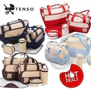 Tenso 5 In 1 Mummy Essential Diaper Bag Clearance