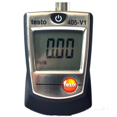 Testo 405-V1 Thermal Anemometer with Duct Holder Air//Wind Speed Meter Tester