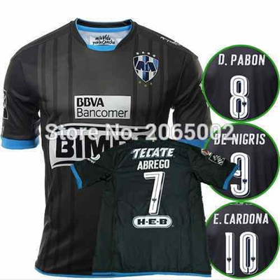 pretty nice 68188 afe9e Thai Quality 16 16 CF Monterrey Soccer Jersey 2016 2017 home away Monterrey  Football shirts,Free shipping
