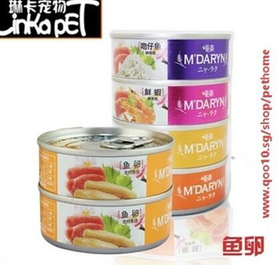 Qoo10 - Thailand imports of canned cat Madeline meow Le
