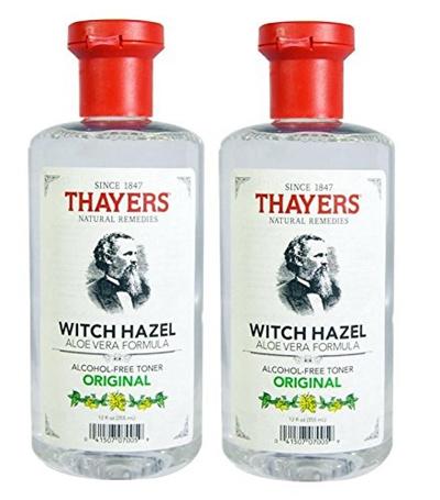 Thayers Witch Hazel with Aloe Vera, Original Astringent 12 oz (Pack of 6) Laura Geller Aqua Elements Aqua Face Serum  30ml/1oz