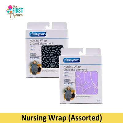 1b50fce5a22 The First Years Nursing Wrap Asst  provides privacy comfort and style  wide  neck