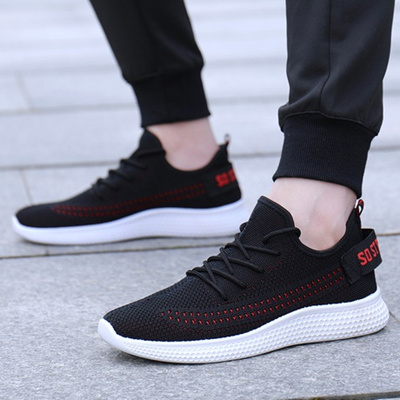 90a47713333 Qoo10 - The new spring 2019 mens shoes sneakers loafers fly weave coconut  runn...   Sportswear