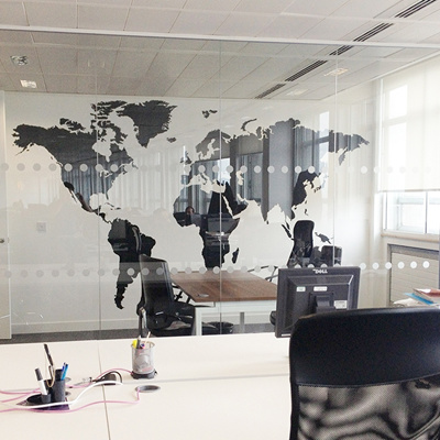 Qoo10 the new sticker world map removable wallpaper home the new sticker world map removable wallpaper home decorations gumiabroncs Choice Image