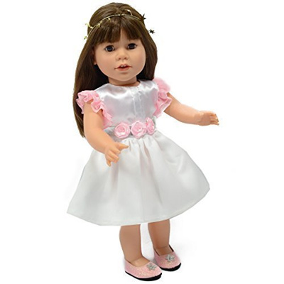 Qoo10 - The New York Doll Collection Satin Party Dress for American ...