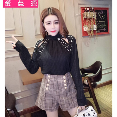 45ed4b07ab351 Qoo10 - The point source version 2017 new fashion Beaded base coat two  piece h...   Women s Clothing