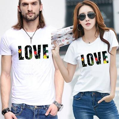 6083fc52 Qoo10 - [The Seven Sinter Letter, ck101] Women LOVE Short Sleeve T-shirt  Korea... : Women's Clothing