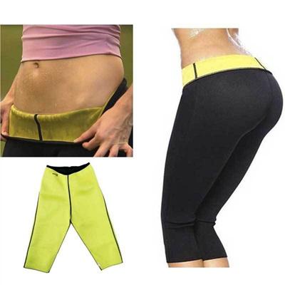 a4e0fd6b7f Qoo10 - Thermo Sweat Hot Neoprene Body Shaper Long Pants Slim Legging Yoga  Tro...   Women s Clothing