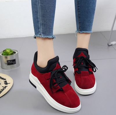 72e20029b28 Thick sole shoes female round platform shoes student shoes casual shoes  shoes shoes
