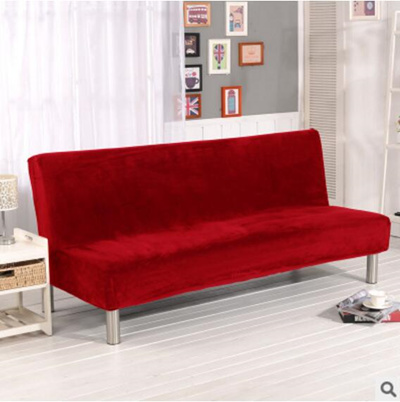 Qoo10 Thicken Sofa Cover Elastic Full Cover Without Armrest