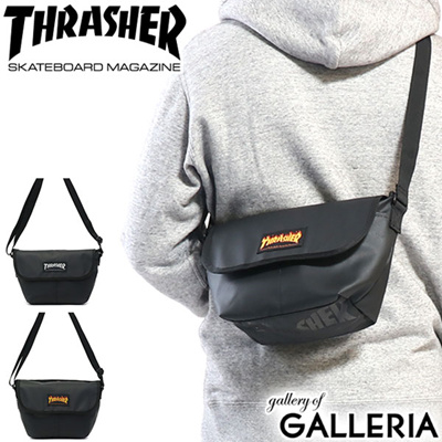 THRASHER flap type small shoulder bag high school student street compact  THRPN-3901 6184e83a18
