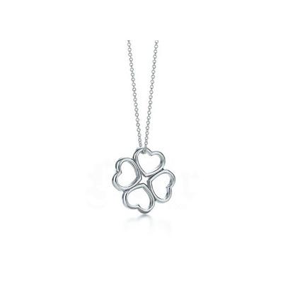 cb9ec7afc TIFFANY & Co Tiffany necklace heart clover pendant (part number: 618... :  Men's Bags & Sho.