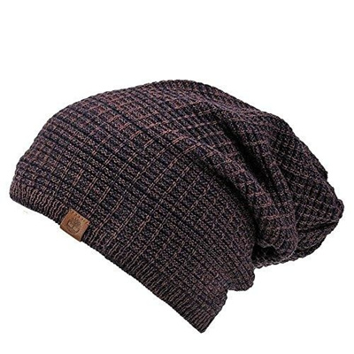 1781d0b1a0d Qoo10 - Timberland Men s Reversible Space Dye Slouchy Beanie   Fashion  Accessories