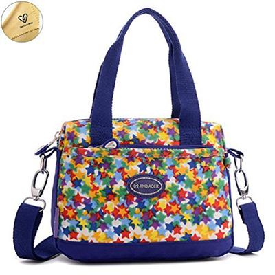 Qoo10 - Tiny Chou Lightweight Waterproof Nylon Top-handle Crossbody Handbag  Sp...   Stationery   Sup. f0e5d250a19f4