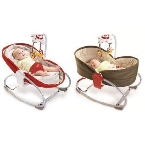 Qoo10 Tiny Love Baby Rocker Napper Baby Bed Red Brown