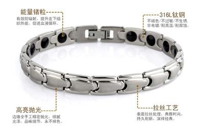 Anium Germanium Bracelet Improve Well Being Health