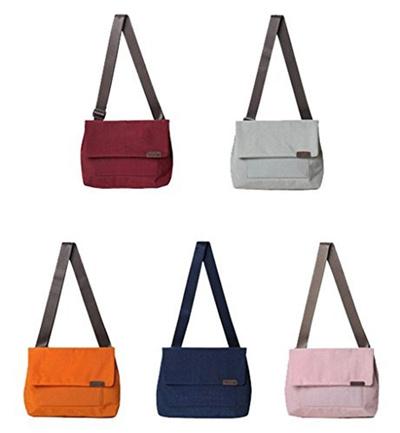 2efc637088 Qoo10 - Tom Clovers Girls Womens Waterproof Nylon Crossbody Bag Shoulder Bag  M...   Bag   Wallet