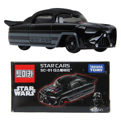 Takara Tomy Tomica STAR WARS CARS DARTH VADER SC-01 DieCast car
