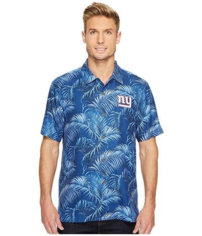 Qoo10 - Tommy Bahama NY Giants NFL Fez Rounds Shirt   Men s Clothing 87dbd21a1