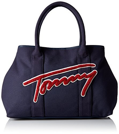 6ec0751d1 Qoo10 - Tommy Hilfiger Aurora Canvas Tote : Bag & Wallet