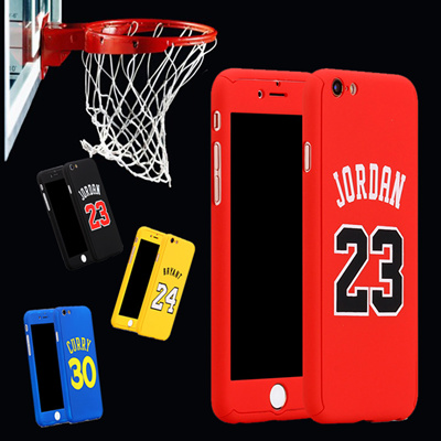 low priced c3c5f d90b7 Top Basketball Superstar Jordan Curry Kobe Bryant 360 Case Full Body Cover  For coque iPhone 6 6s