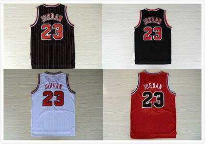 new arrival 5ce5f 34837 Top Quality Stitched #23 Michael Jordan Jersey Red White Black Cheap  Michael Jordan Basketball jerse